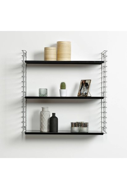 Bookshelf | Frosted & Black