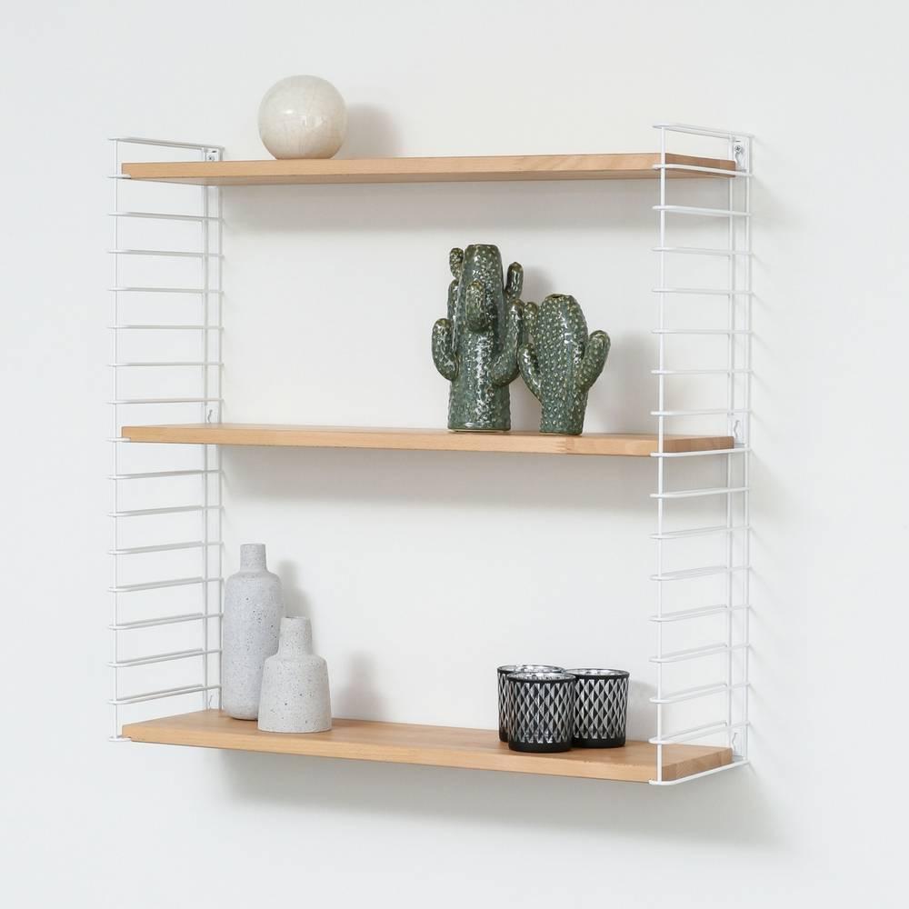 "Bookshelf ""White & Wood""-1"