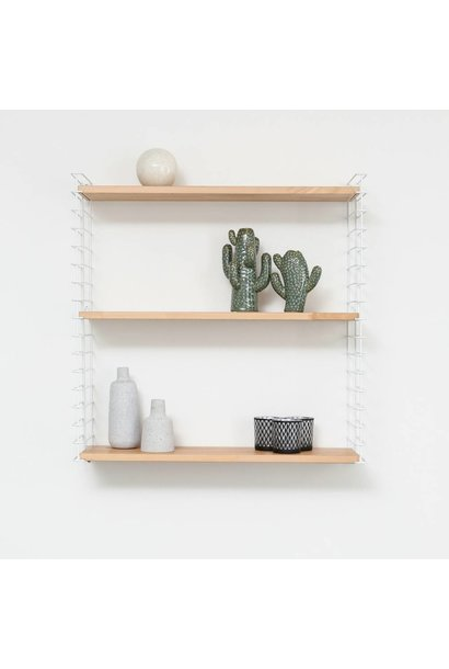 Bookshelf | White & Wood