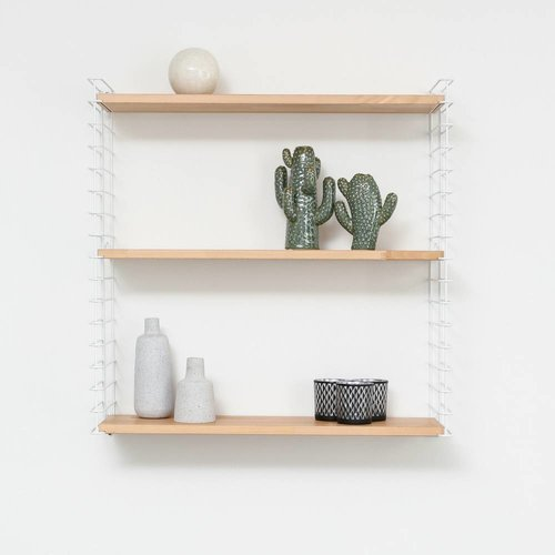 TOMADO Bücherregal | Weiß & Holz