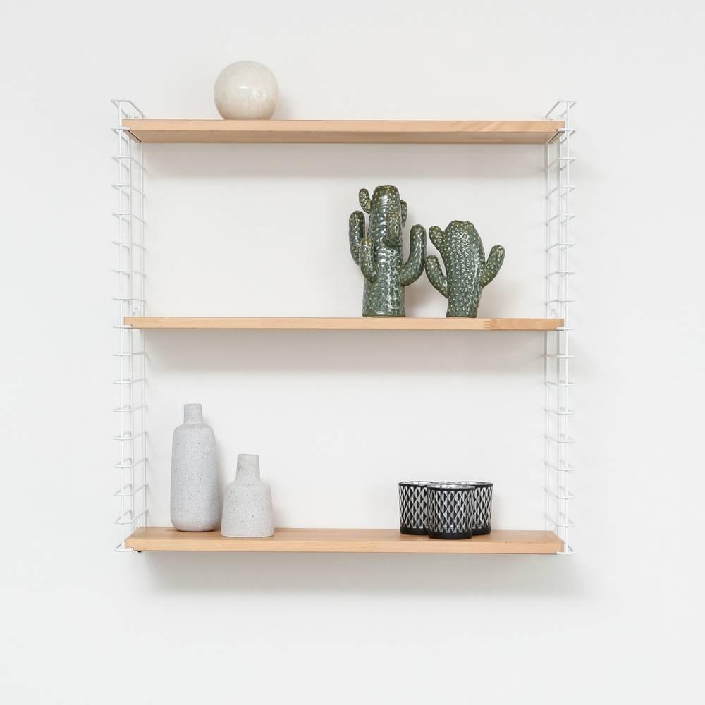 "Bookshelf ""White & Wood""-2"