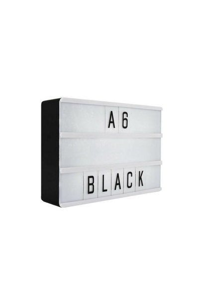 LIGHTBOX A6 | Black