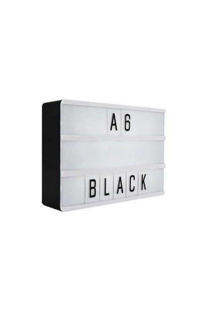LIGHTBOX A6 | Zwart