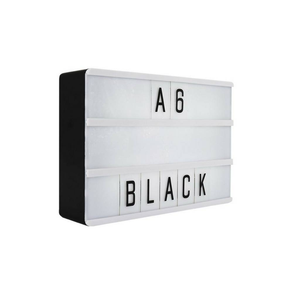 LIGHTBOX A6 Magnetische Mini Letter Lichtbak met Micro USB Input-1