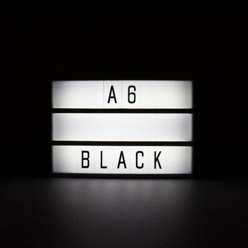 LOCOMOCEAN LIGHTBOX A6 Magnetisch Mini Buchstaben Leuchtkasten mit Micro USB Input