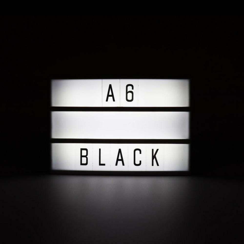 LIGHTBOX A6 Magnetische Mini Letter Lichtbak met Micro USB Input-3