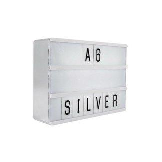 LOCOMOCEAN LIGHTBOX A6   Silber