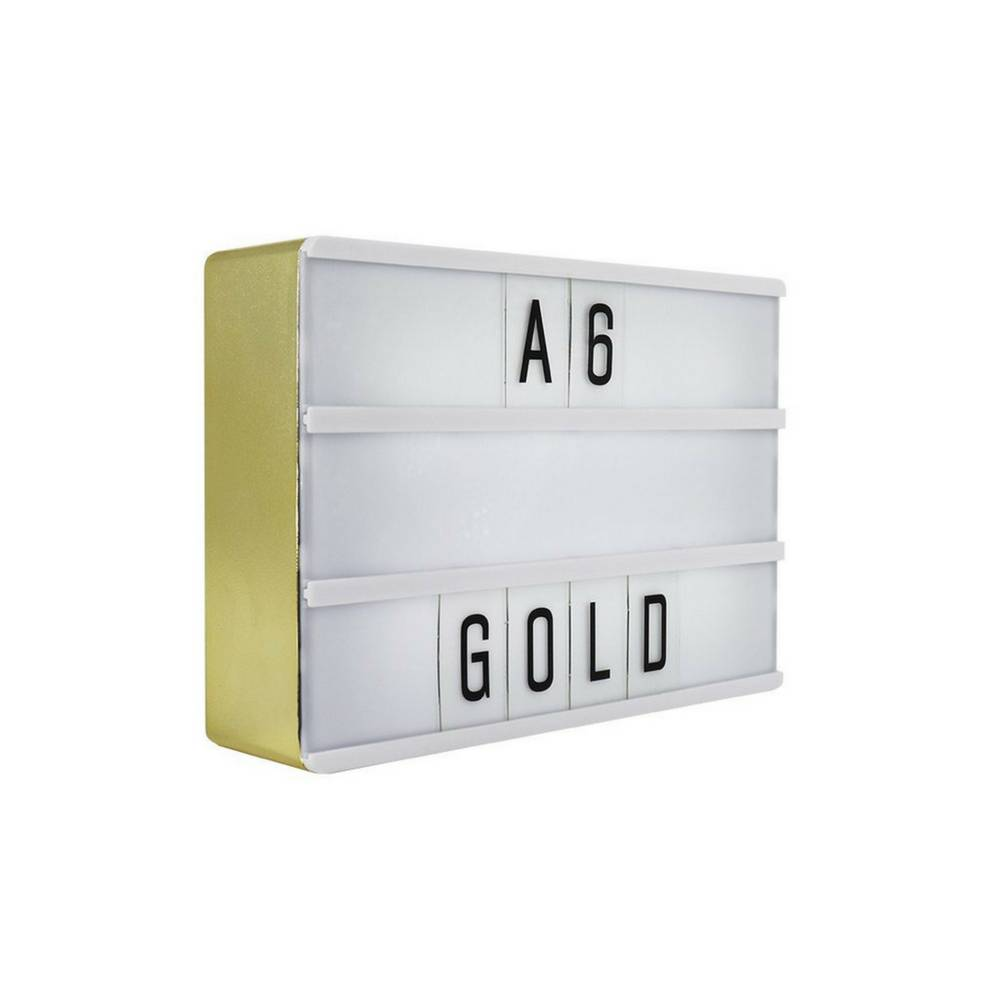 LIGHTBOX A6 Magnetic Mini Letter Light Box with Micro USB Input-1