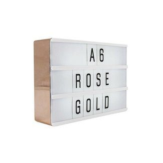 LOCOMOCEAN LIGHTBOX A6 | Rose Gold