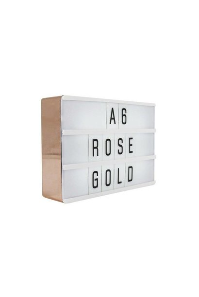 LIGHTBOX A6 | Rose Gold