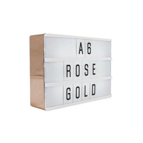 LOCOMOCEAN LIGHTBOX A6 | Rose Gold