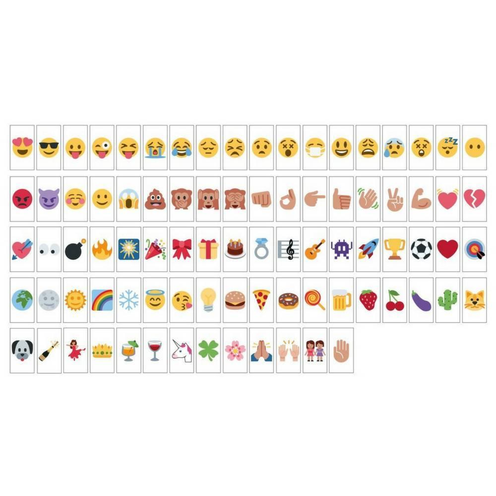 """""""Emoji"""" 85-Pack voor A6 Lightbox-1"""