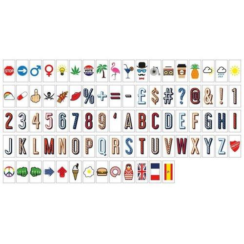 LOCOMOCEAN LIGHTBOX A4 | Symbols Pack