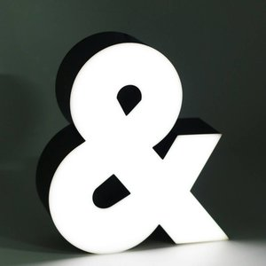 iLUTE LED Sign | Ampersand