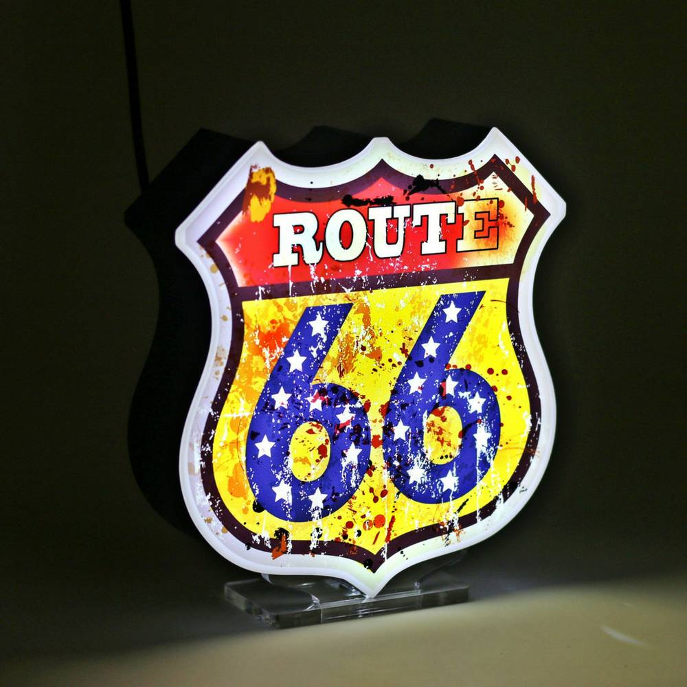 LED Sign | Route 66-1