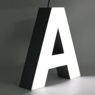 Quizzy LED Letter A