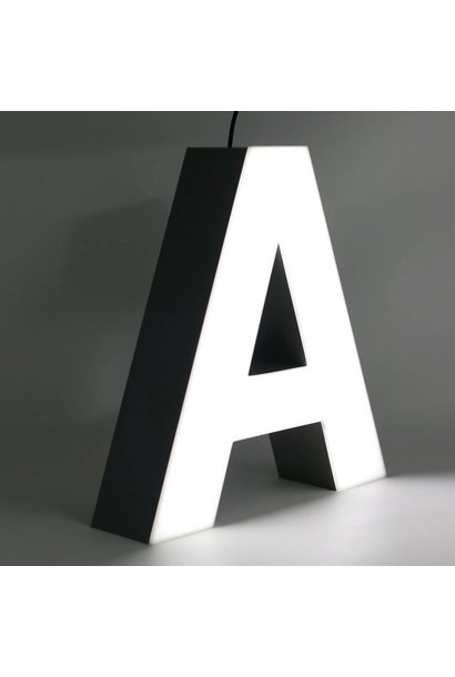 Quizzy LED Buchstabe A