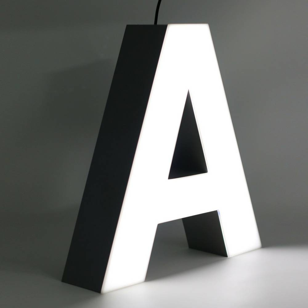 Quizzy LED Letter A-1