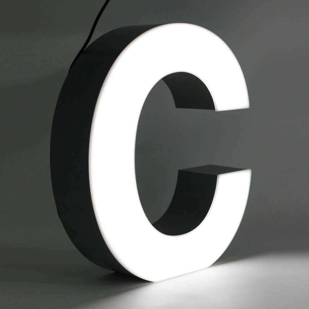 Quizzy LED Buchstabe C-1