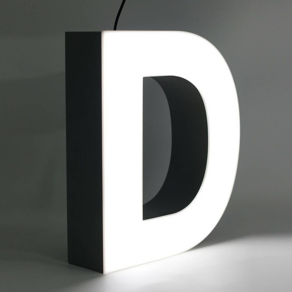Quizzy LED Buchstabe D-1