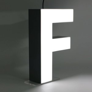 iLUTE Quizzy LED Buchstabe F