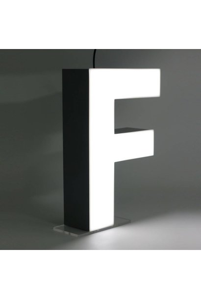 Quizzy LED Buchstabe F