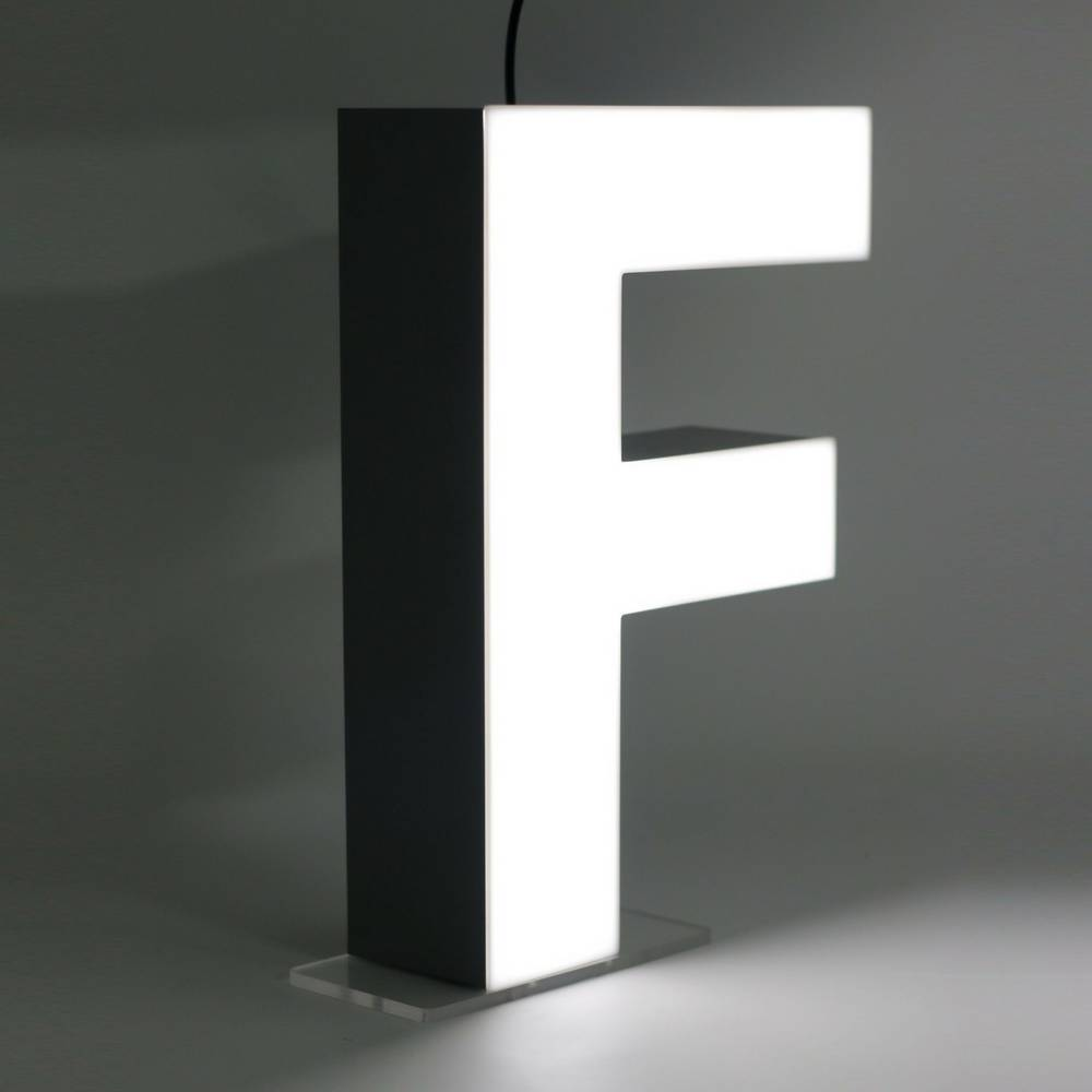 Quizzy LED Buchstabe F-1