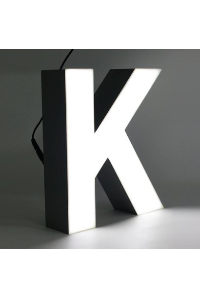 Quizzy LED Buchstabe K