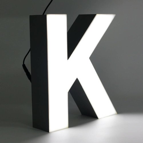iLUTE Quizzy LED Buchstabe K