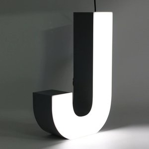 iLUTE Quizzy LED Buchstabe J