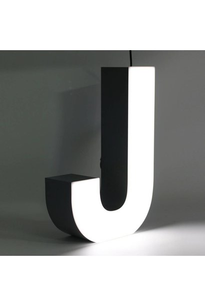 Quizzy LED Lettre J