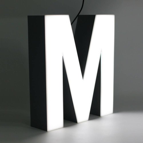 iLUTE Quizzy LED Buchstabe M
