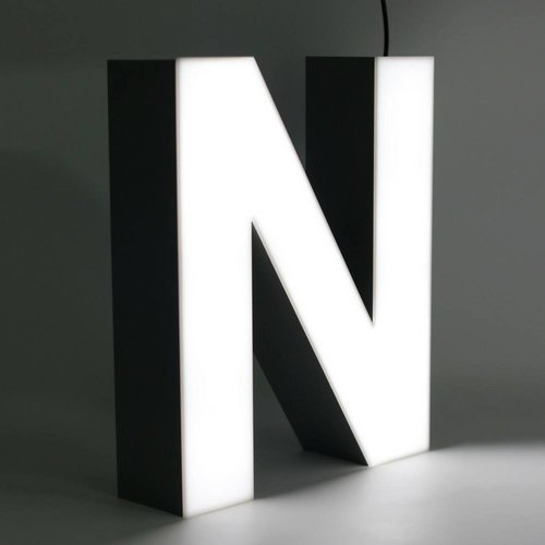 iLUTE Quizzy LED Buchstabe N