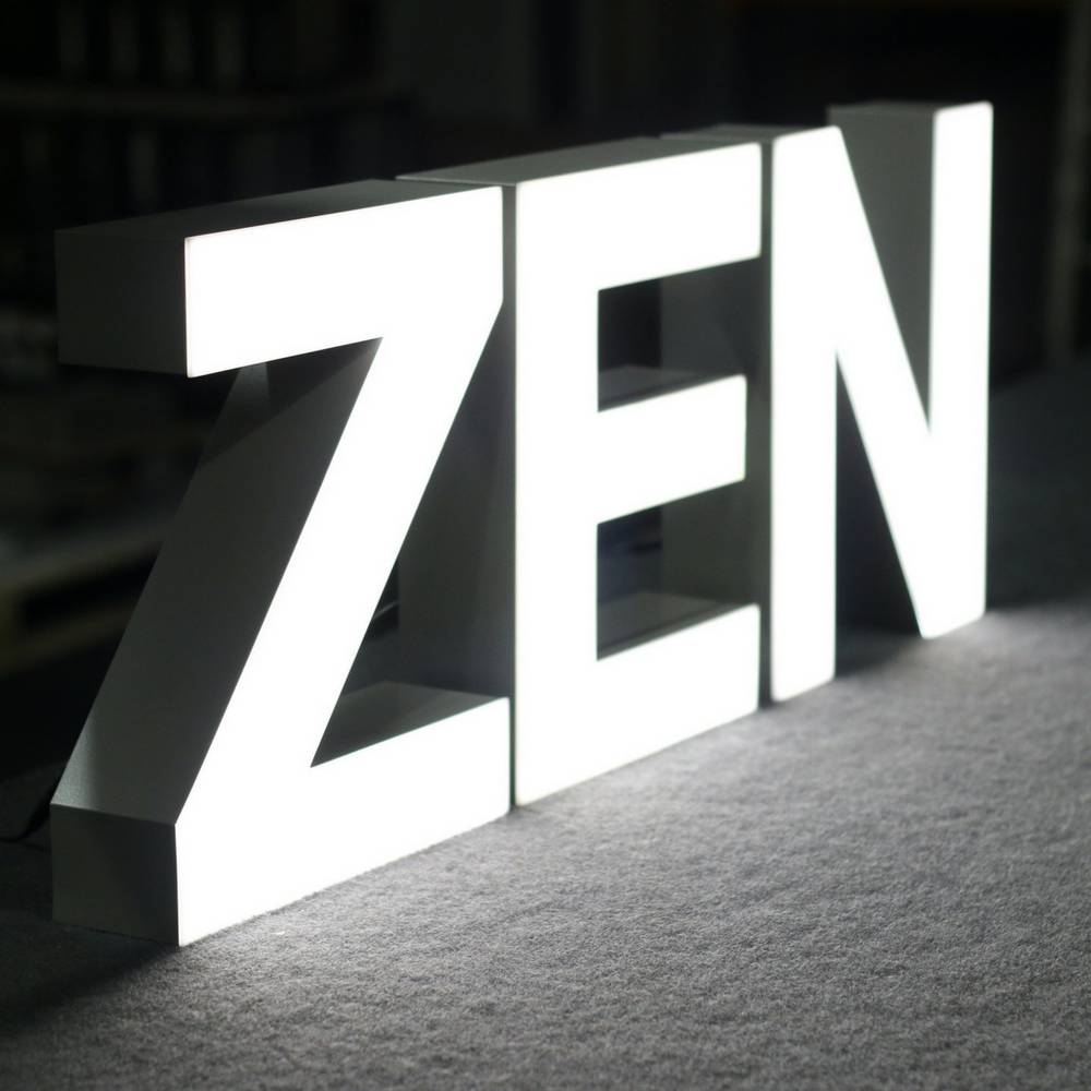 Quizzy LED Letter N-2