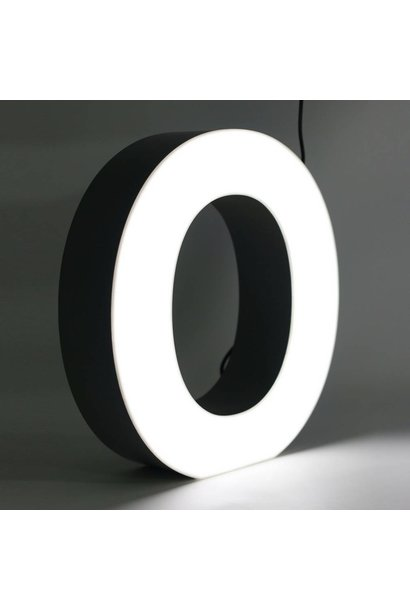Quizzy LED Lettre O