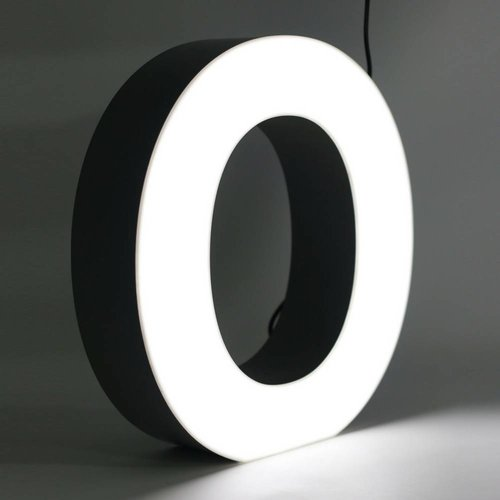 iLUTE Quizzy LED Buchstabe O