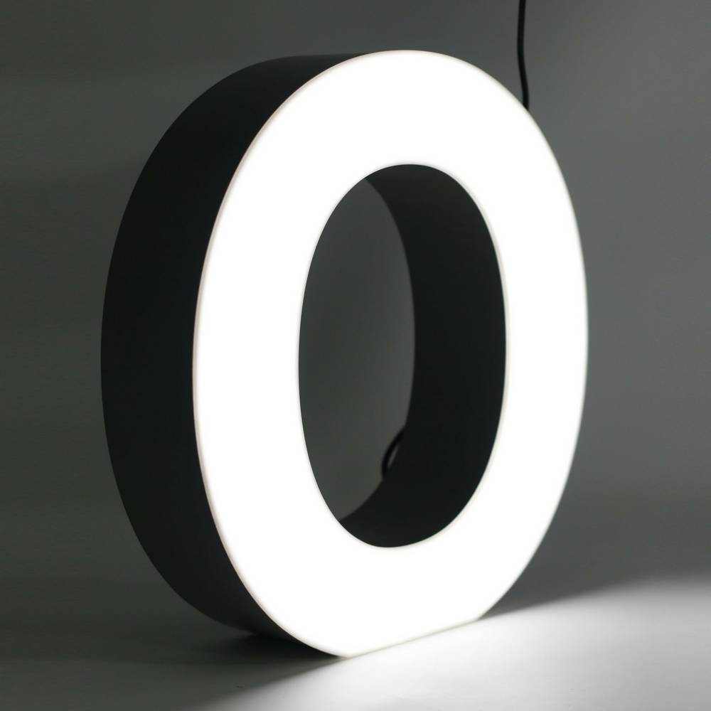 Quizzy LED Letter O-1