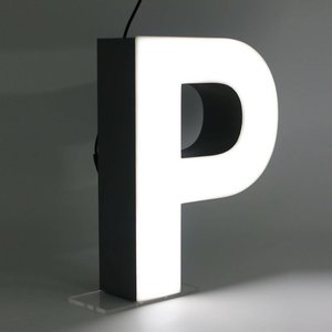 iLUTE Quizzy LED Buchstabe P