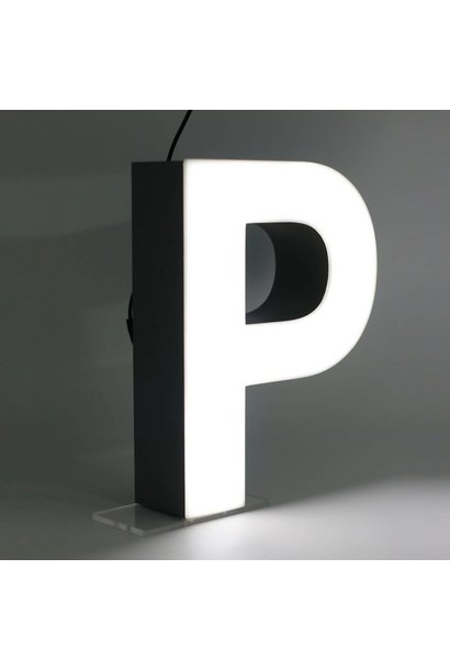 Quizzy LED Buchstabe P