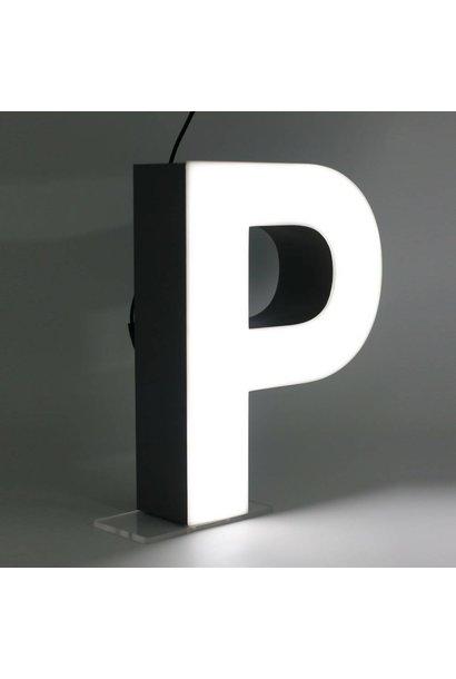 Quizzy LED Lettre P