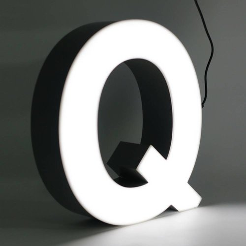 iLUTE Quizzy LED Buchstabe Q