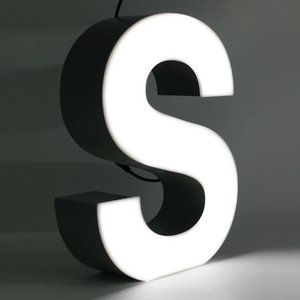 iLUTE Quizzy LED Buchstabe S