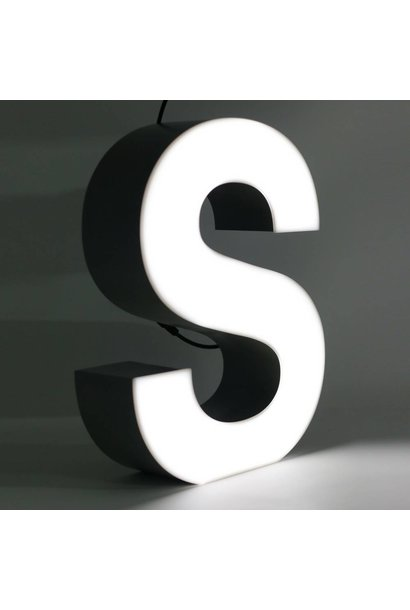 Quizzy LED Lettre S