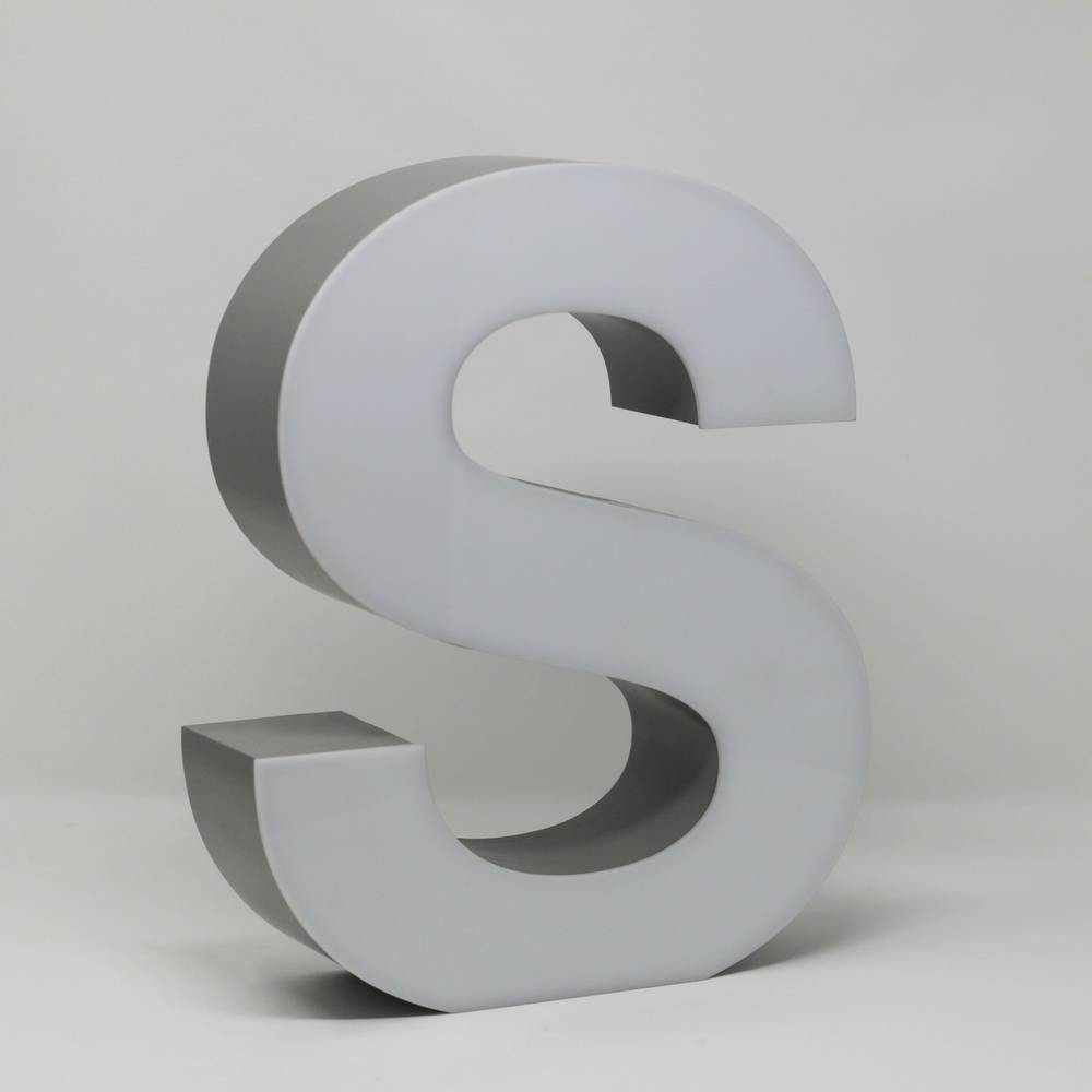 Quizzy LED Letter S-3