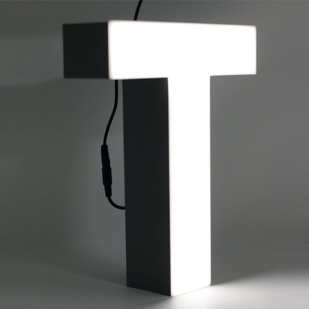 Quizzy LED Letter T-1