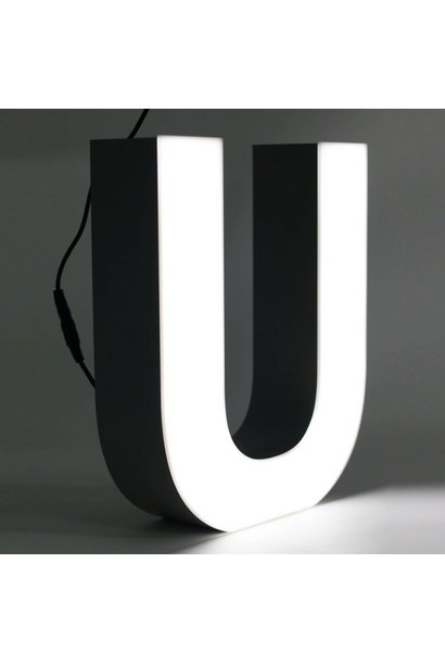 Quizzy LED Letter U
