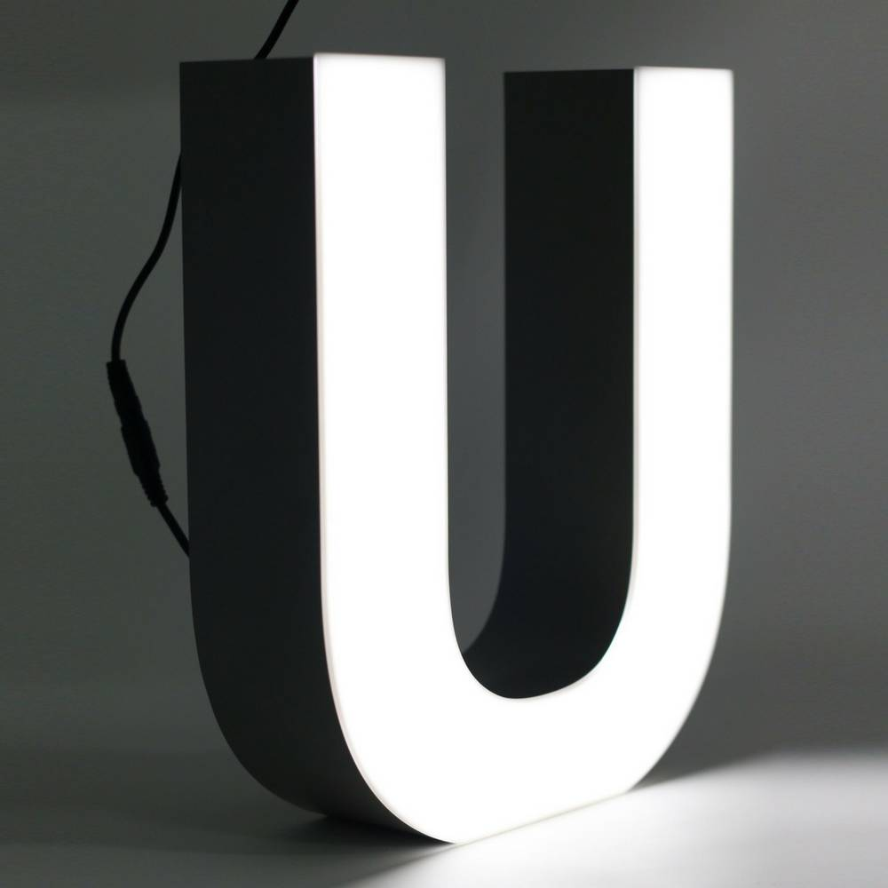 Quizzy LED Letter U-1