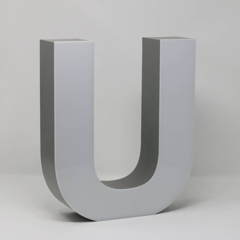 Quizzy LED Letter U-3