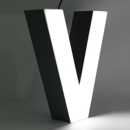 iLUTE Quizzy LED Buchstabe V