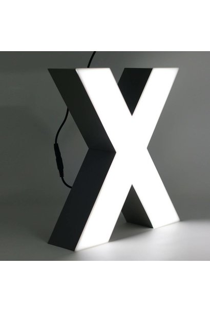 Quizzy LED Buchstabe X